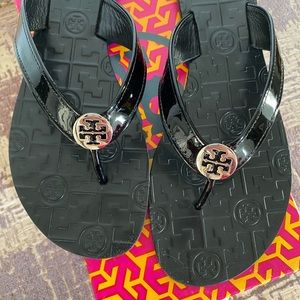 Brand New Tory Burch Leather Sandals, 10